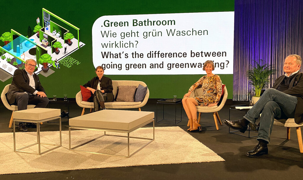 Pop up my Bathroom Magazin zum Thema Green Bathroom