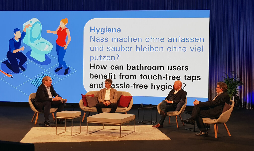 Pop up my Bathroom Magazin zum Thema Hygiene auf der ISH digital 2021