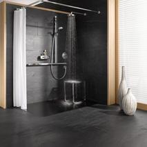 sicheres und komfortables duscherlebnis mit keuco pop up my bathroom. Black Bedroom Furniture Sets. Home Design Ideas