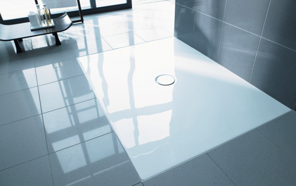 Duraplan By Duravit Flush Fitting Shower Trays Even For