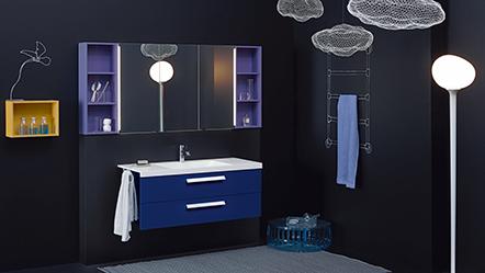 cconceptwall von Burgbad: Das Bad wird Wohnraum . Pop up my Bathroom