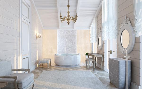 vom new yorker master bathroom zum eltern spa in bad. Black Bedroom Furniture Sets. Home Design Ideas