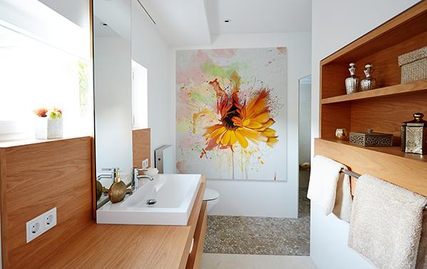 Offene Dusche Spritzschutz : Vom New Yorker Master Bathroom zum Eltern ...