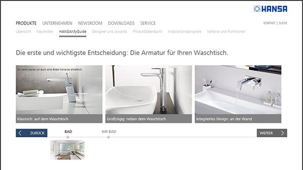 Dornbracht Dusche Liegen : Mit dem Hansa Badkonfigurator die Armaturen ...
