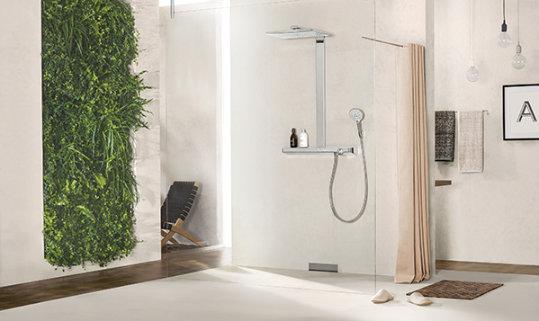 Hansgrohe: ShowerSelect novelties with high-quality glass surface ...
