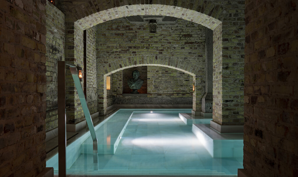 Aire Ancient Baths at Hotel Ottilia in Copenhagen