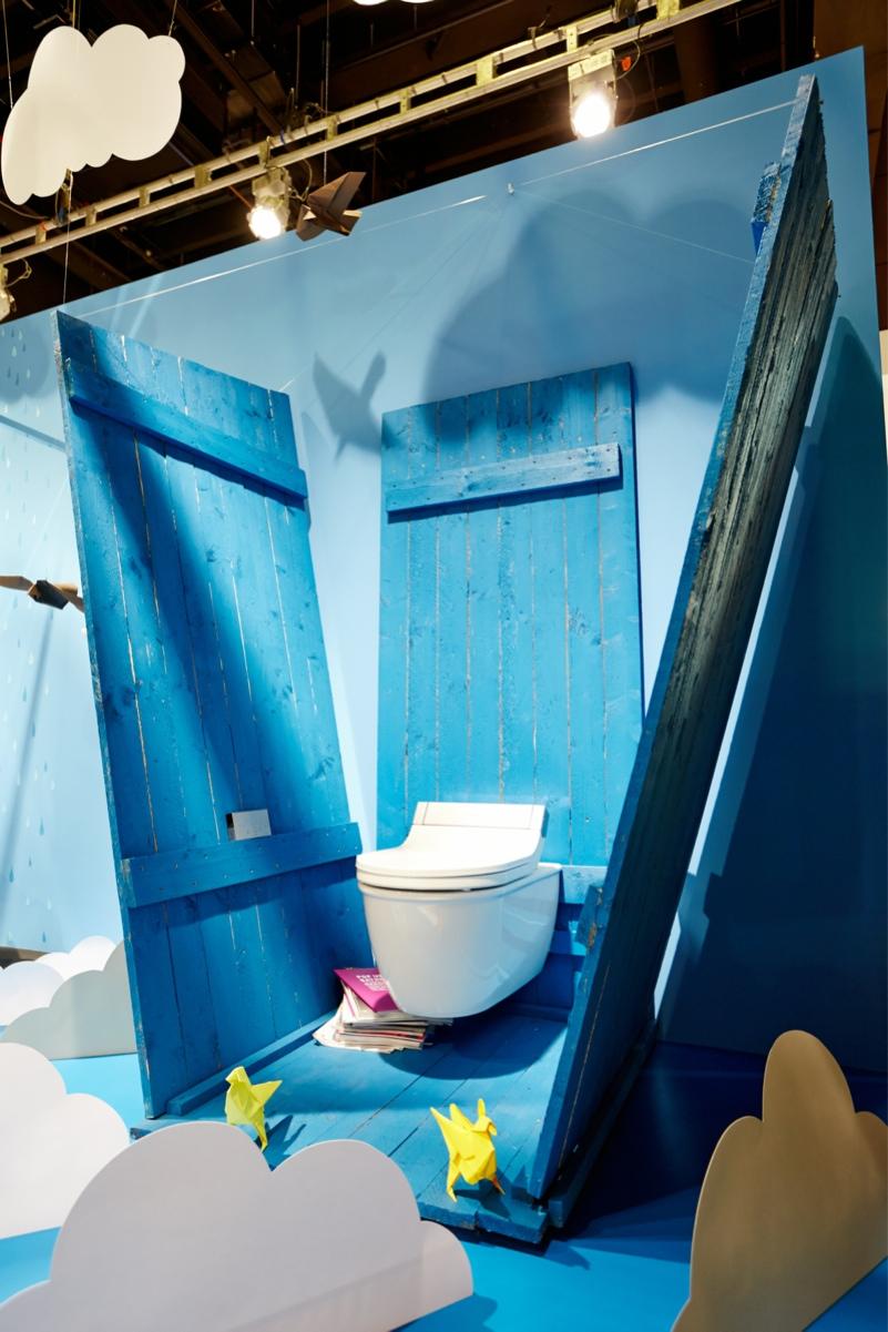 ish galerie b der von pappe pop up my bathroom. Black Bedroom Furniture Sets. Home Design Ideas